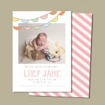 $19 for Birth Announcement Mega Bundle from Sweet Little Muse {Save 93%}