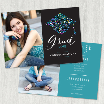 SECOND CHANCE: $15 for Senior Graduation Announcement Bundle from ...